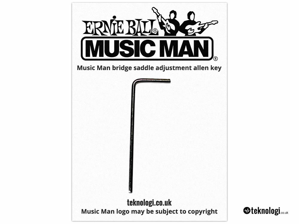 Musicman Bridge Adjustment Allen Key – Musicman Saddle Height Adjustment Wrench